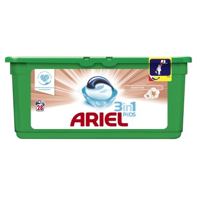 Ariel Pods 3-in-1 Sensitive 28 st