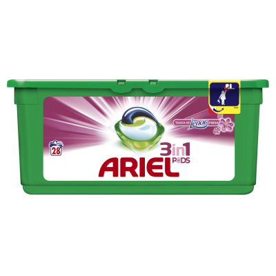 Ariel Pods 3-in-1 Touch Of Lenor 28 st