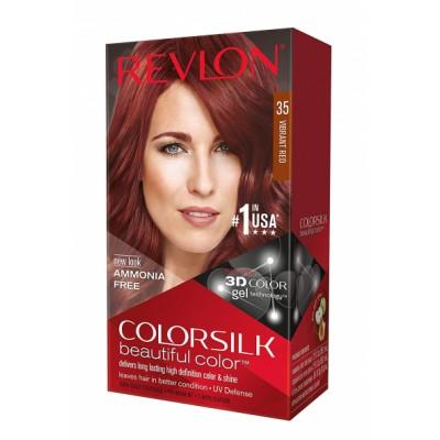 Revlon Colorsilk Permanent Haircolor 35 Vibrant Red 1 pcs