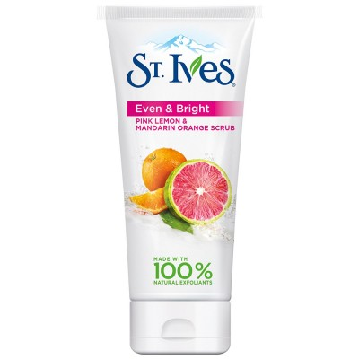 St. Ives Even & Bright Pink Lemon & Mandarin Orange Scrub 150 ml