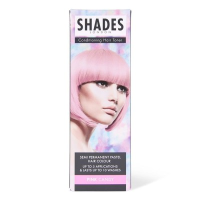 Shades London Conditioning Hair Toner Pink Candy 75 ml