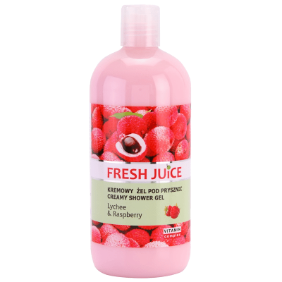 Fresh Juice Lychee & Raspberry Shower Gel 500 ml