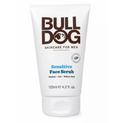 Bulldog Sensitive Face Scrub 125 ml