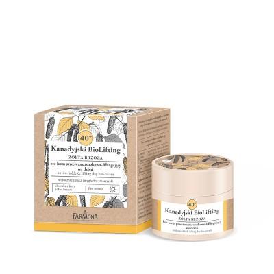 Farmona Canadian Biolifting 40+ Yellow Birch Anti-Wrinkle Day Cream 50 ml