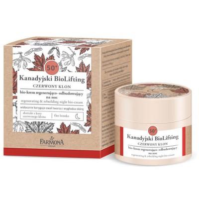 Farmona Canadian Biolifting 50+ Red Maple Regenerating Night Cream 50 ml