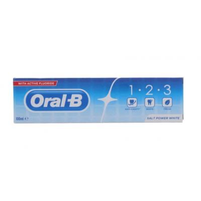 Oral-B 123 Salt Power White Toothpaste 100 ml