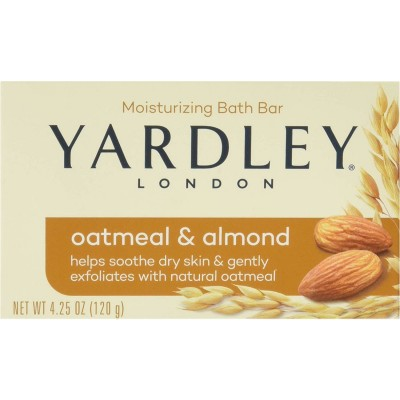 Yardley London Bar Soap Oatmeal & Almond 120 g