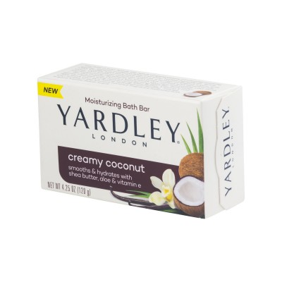 Yardley London Bar Soap Creamy Coconut 120 g