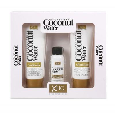 Revitalising Coconut Water Haircare Box Set 2 x 100 ml + 30 ml