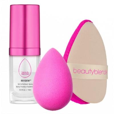The Original Beautyblender  Beautyblender Glow All Night Kit 15 ml + 2 pcs