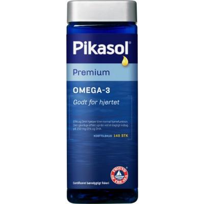 Pikasol Premium Fiskoljekapslar 140 st