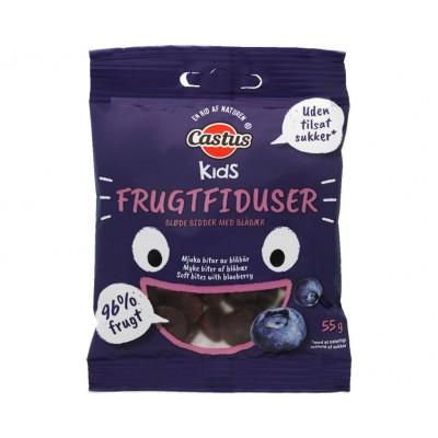 Castus Kids Fruitmaantjes Blauwe Bessen 55 g