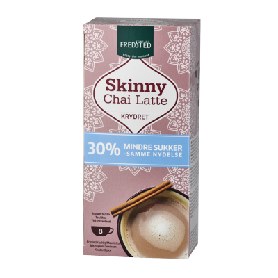 Fredsted Skinny Chai Latte mausteinen tee 136 g
