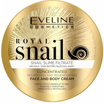 Eveline Royal Snail Concentrated Face & Body Cream 200 ml