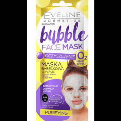 Eveline Bubble Face Sheet Mask Purifying 1 kpl