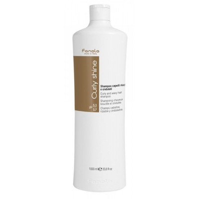 Fanola Curly Shine Curly & Wavy Shampoo 1000 ml