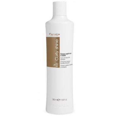 Fanola Curly Shine Curly & Wavy Shampoo 350 ml