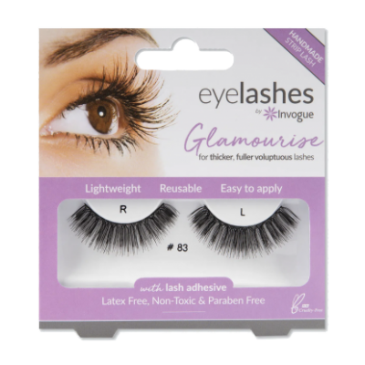 Invogue Eyelashes Glamourise 83 1 pari