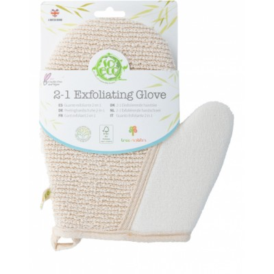 So Eco 2in1 Exfoliating Glove 1 st