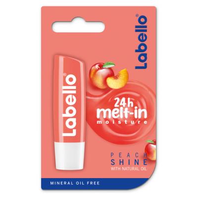 Labello Peach Shine Lipbalm 5,5 ml