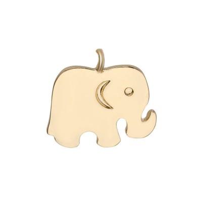 Everneed Elefant Guld Vedhæng 2 cm