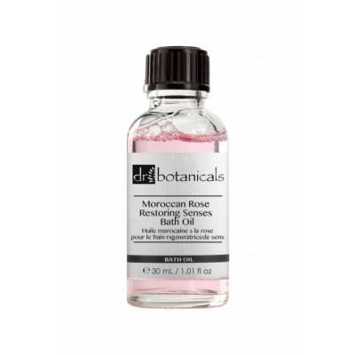 Dr Botanicals Moroccan Rose Restoring Senses Bath Oil 30 ml