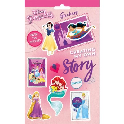 Disney Princess Story Stickers 700+ kpl
