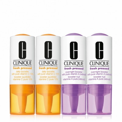 Clinique Fresh Pressed Daily & Overnight Booster 2 x 8,5 ml + 2 x 6 ml