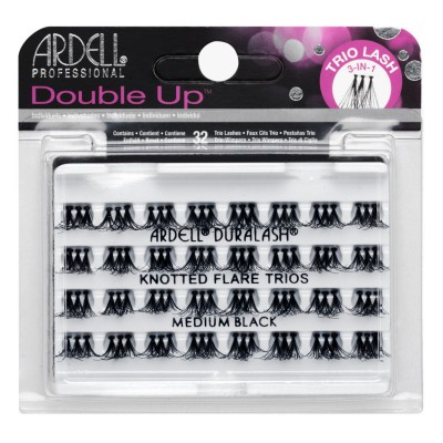 Ardell Double Up Trio Lashes Medium Black 32 kpl