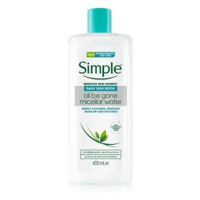 Simple Oil Be Gone Micellar Water 400 ml