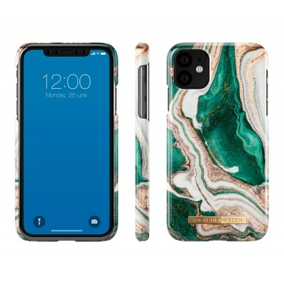 iDeal Of Sweden Fashion Case iPhone 11 Golden Jade Marble iPhone 11