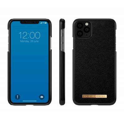 iDeal Of Sweden Saffiano Case iPhone 11 Pro Max Black iPhone 11 Pro Max