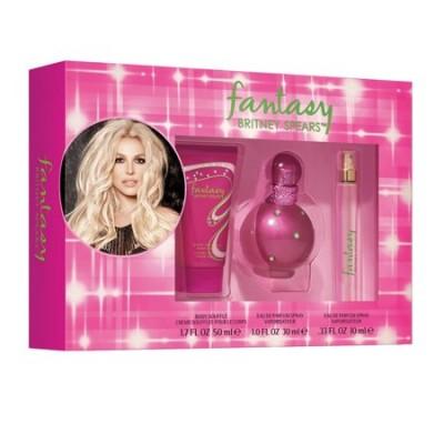 Britney Spears Fantasy EDP & EDP Mini & Body Souffle 30 ml + 10 ml + 50 ml