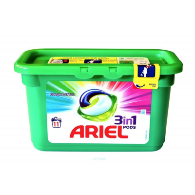 Ariel Pods 3-in-1 Color 11 stk