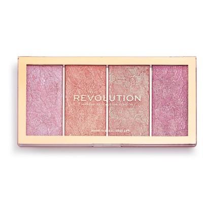 Revolution Makeup Vintage Lace Blush Palette 20 g