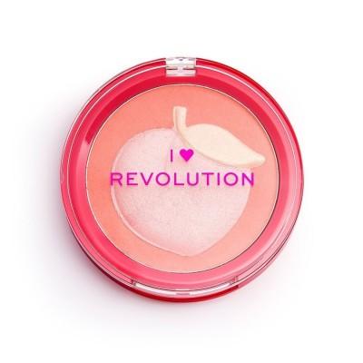Revolution Makeup I Heart Fruity Blusher Peach 9,2 g