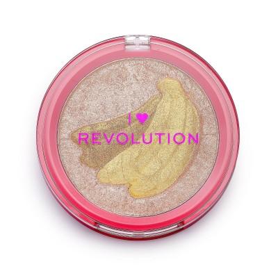 Revolution Makeup I Heart Fruity Blusher Banana 9,2 g