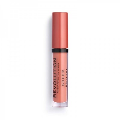 Revolution Makeup Sheer Lipgloss 105 Attraction 3 ml