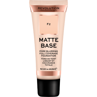 Revolution Makeup Matte Base Foundation F2 28 ml