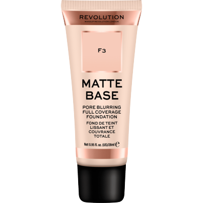 Revolution Makeup Matte Base Foundation F3 28 ml
