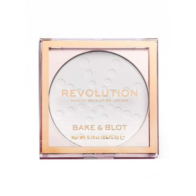 Revolution Makeup Bake & Blot Powder White 5,5 g