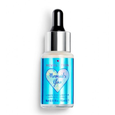 Revolution Makeup Fantasy Liquid Highlighter Mermaids Glow 15 ml