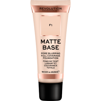Revolution Makeup Matte Base Foundation F1 28 ml