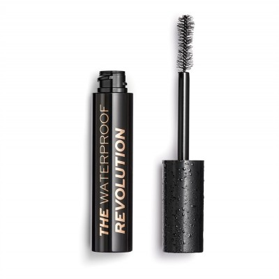 Revolution Makeup The Waterproof Mascara Black 12 ml