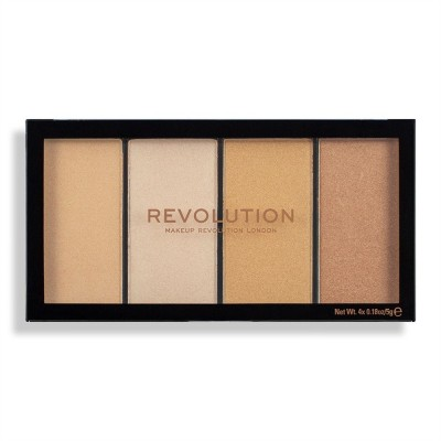 Revolution Makeup Reloaded Lustre Lights Warm Palette 20 g