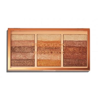 Revolution Makeup Shimmer Brick Palette 12 g