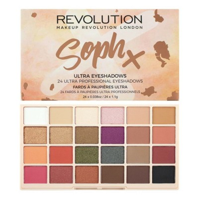 Revolution Makeup Soph X Ultra Eyeshadow Palette 26,4 g