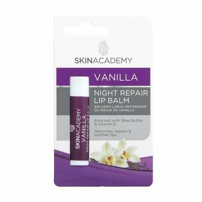 Skin Academy Lip Balm Vanilla Night Repair 4,25 g