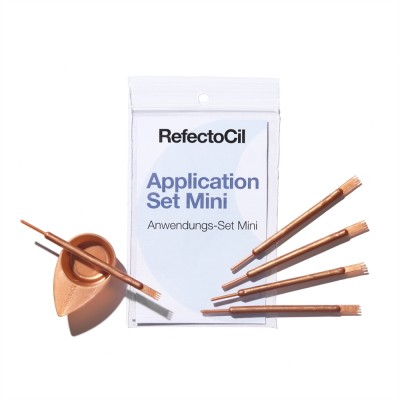 Refectocil Eyelash & Eyebrow Mini Application Set Rose Gold 10 kpl