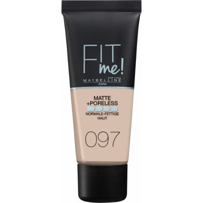 Maybelline Fit Me Matte & Poreless Foundation 097 Natural Porcelain 30 ml